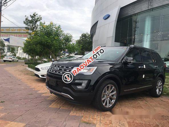 Cần bán xe Ford Explorer đời 2017, màu đen, xe nhập-0