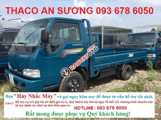 Bán xe Thaco Kia K165 2,4 tấn mới. Thaco Kia K165 trả góp, Kia K165 2,4 tấn mới-1