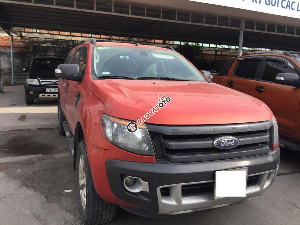 Bán xe Ford Ranger Wildtrak 3.2 sản xuất 2015, xe cty xuất hóa đơn-1