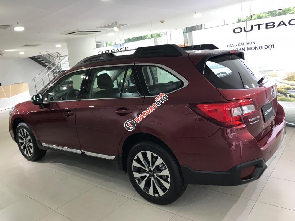 Bán Subaru Outback 2.5 IS xe mới (đỏ, trắng, vàng cát), xe giao ngay gọi 093.22222.30-5