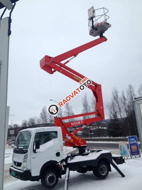 Xe sửa chữa điện, xe thang nâng người trên cao 10 m, 12 m, 14 m-1