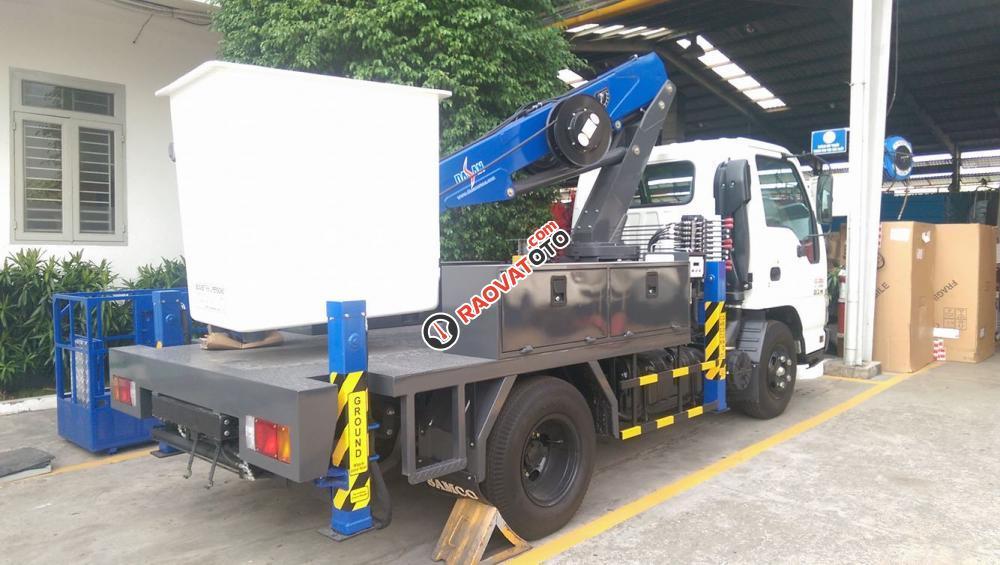 Xe sửa chữa điện, xe thang nâng người trên cao 10 m, 12 m, 14 m-2