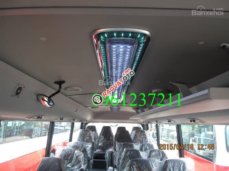 Bán xe khách thân dài Tracomeco 29 chỗ, ghế 2-2 Châu Âu ĐT: 0961237211-7