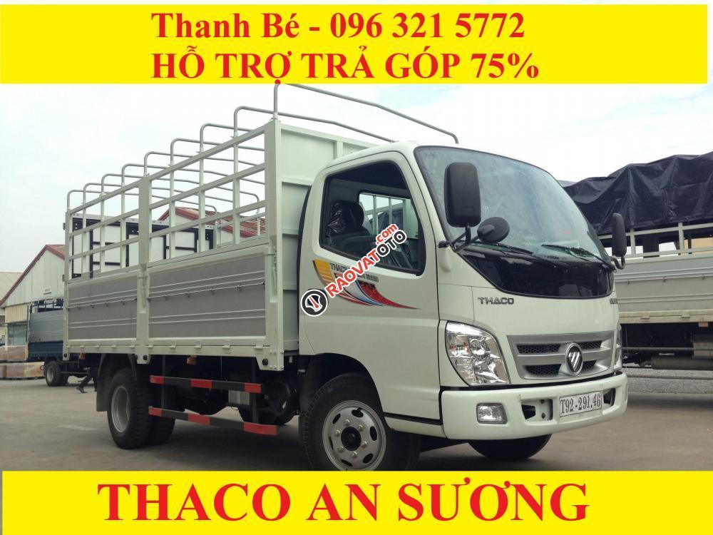 Bán Thaco Ollin 198A/500B tải trọng 1 tấn 98 / 5 tấn, đời 2017, hỗ trợ trả góp 75%-2