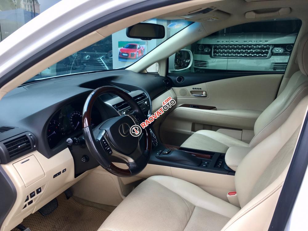 Bán ô tô Lexus RX 350 sản xuất năm 2015, màu trắng nội thất kem LH: 0982.84.2838-7