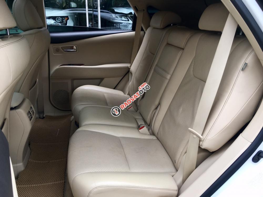 Bán ô tô Lexus RX 350 sản xuất năm 2015, màu trắng nội thất kem LH: 0982.84.2838-11