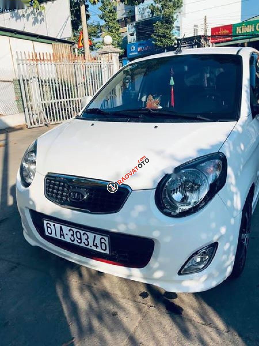 Bán xe Kia Morning SX 1.1 AT Sport 2012, màu trắng, số tự động-1
