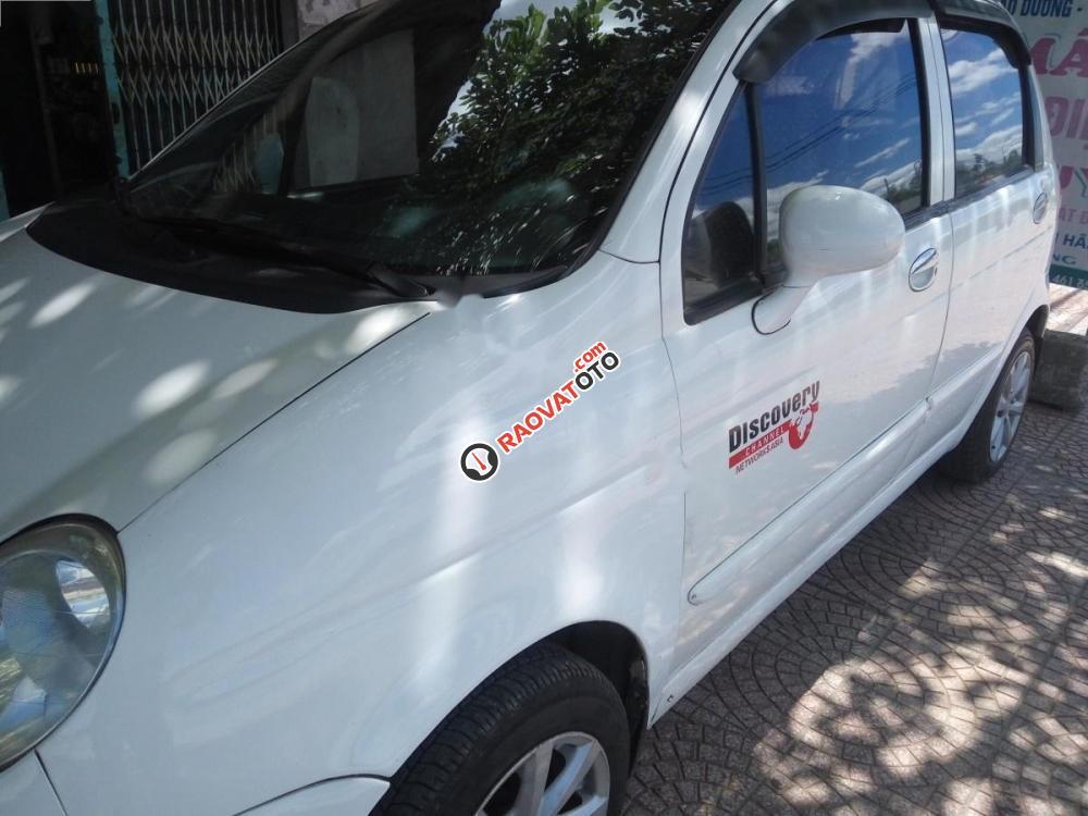 Bán xe Daewoo Matiz SE 0.8 MT sản xuất năm 2007, màu trắng-1