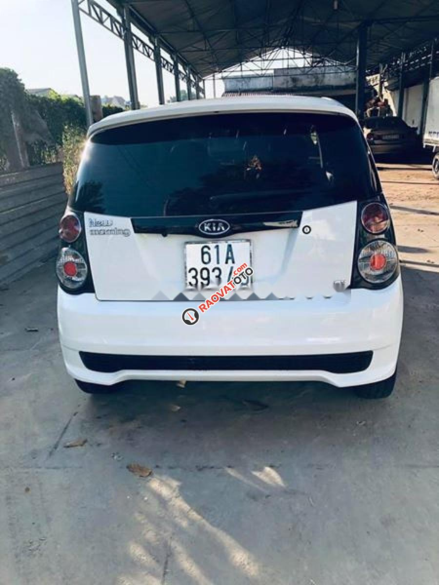 Bán xe Kia Morning SX 1.1 AT Sport 2012, màu trắng, số tự động-5