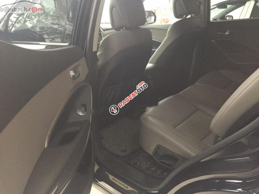 Cần bán Hyundai Santa Fe DM2 2018, màu đen-3