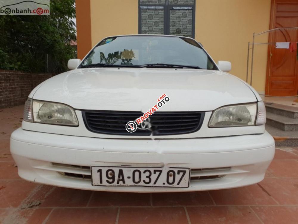 Bán Toyota Corolla 2001, màu trắng, giá tốt-3
