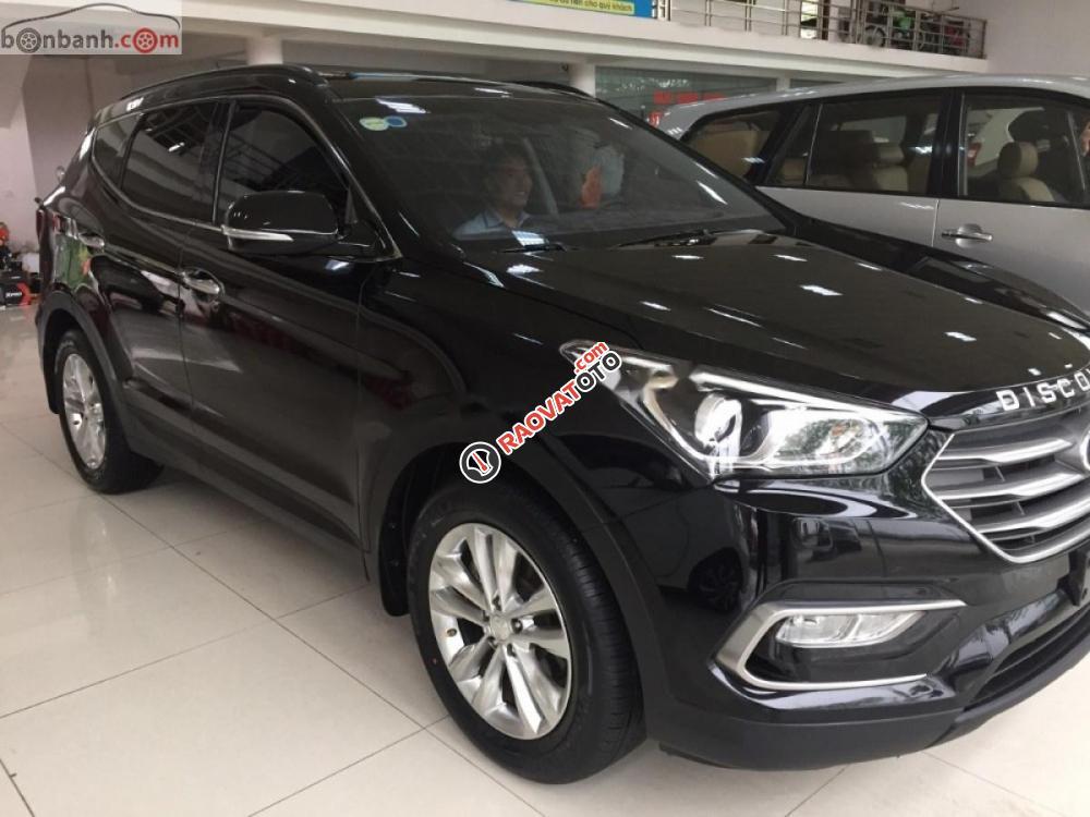 Cần bán Hyundai Santa Fe DM2 2018, màu đen-7