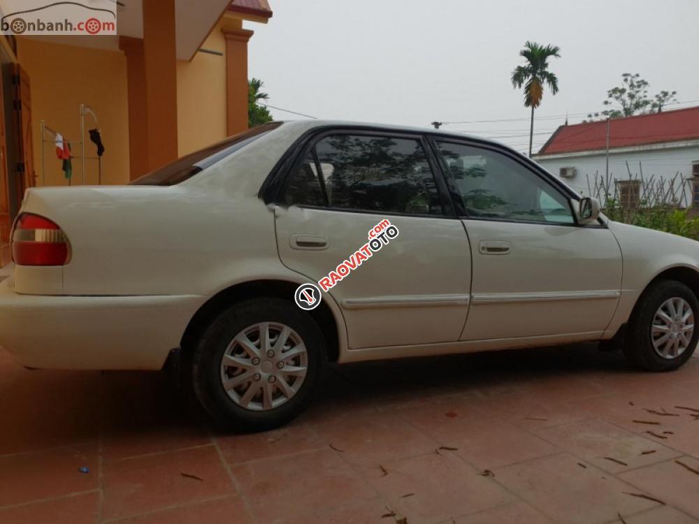 Bán Toyota Corolla 2001, màu trắng, giá tốt-7