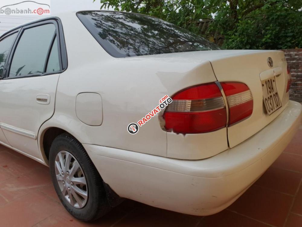 Bán Toyota Corolla 2001, màu trắng, giá tốt-5