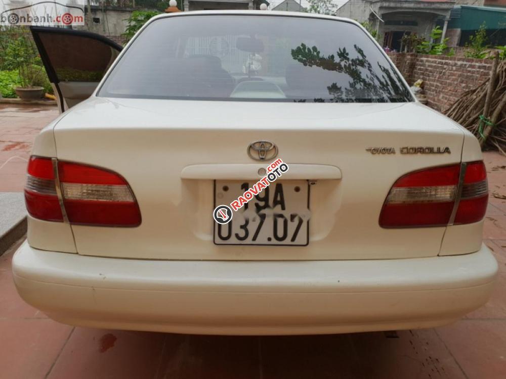 Bán Toyota Corolla 2001, màu trắng, giá tốt-4