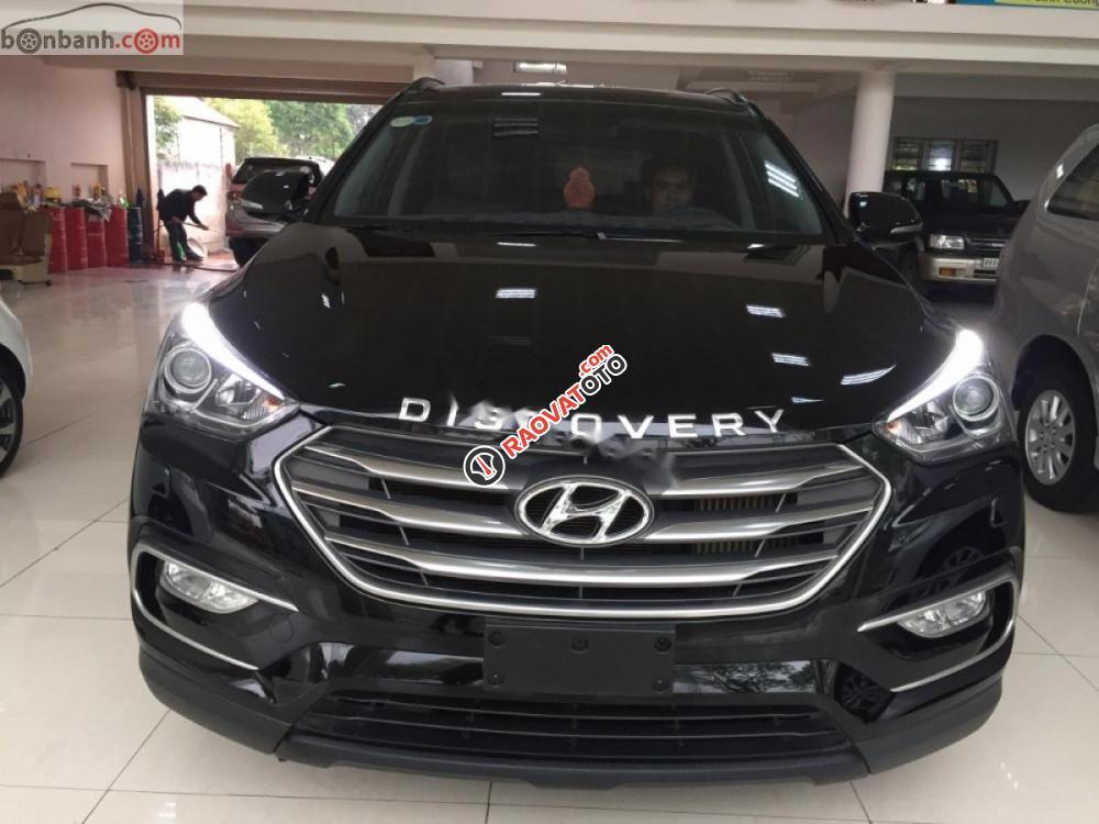 Cần bán Hyundai Santa Fe DM2 2018, màu đen-6