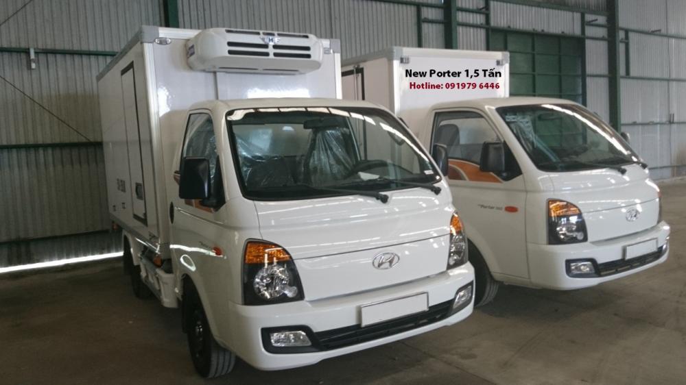 Bán ô tô Hyundai Porter đông lạnh 1tấn 2020, màu trắng-2