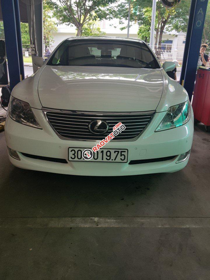 Cần bán xe Lexus LS LS460L sản xuất 2010, màu trắng, nhập khẩu -0