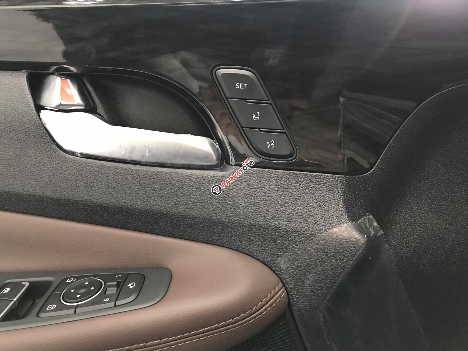 Bán xe Hyundai Santa Fe 2019, màu đen. Xe giao ngay-14