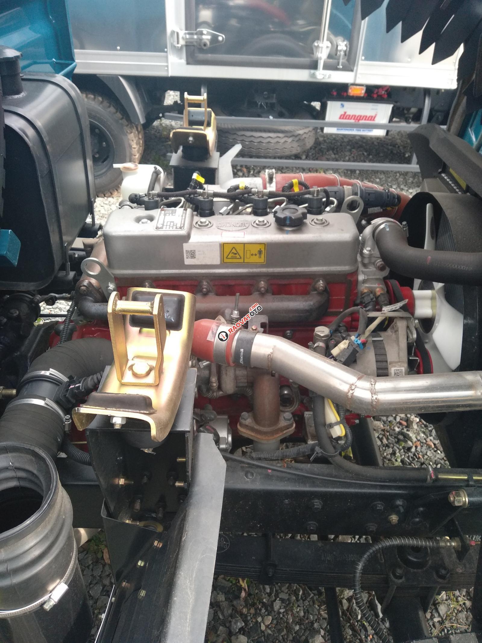 Bán xe ben THACO 2.5 tấn, Xe ben nhẹ, Xe ben 2 khối, xe ben Bình Dương-5