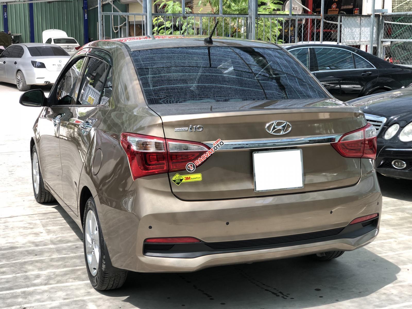 Cần bán xe Hyundai Grand i10 đời 2019, màu vàng, giá chỉ 436 triệu-2