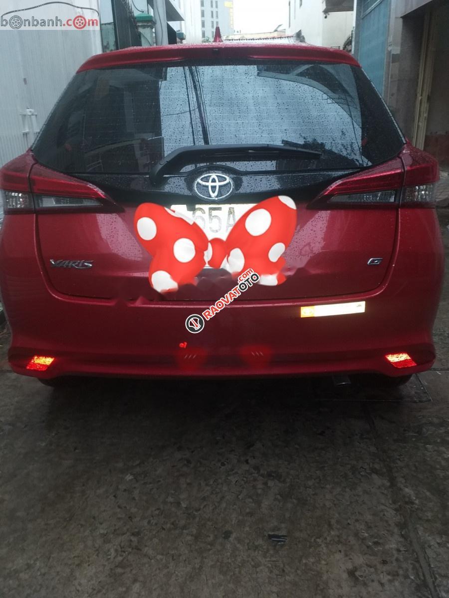 Bán Toyota Yaris sản xuất năm 2018, màu đỏ, nhập khẩu Thái-9