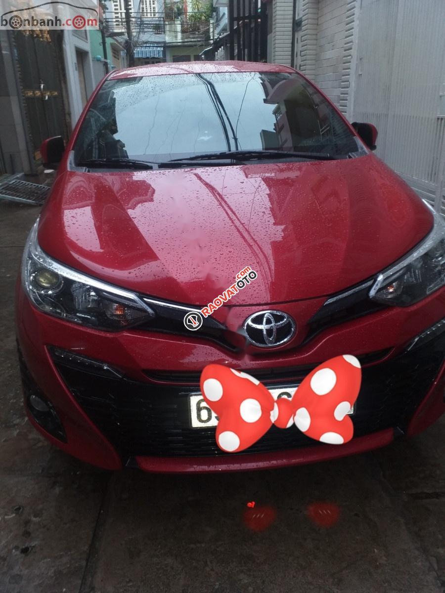 Bán Toyota Yaris sản xuất năm 2018, màu đỏ, nhập khẩu Thái-8
