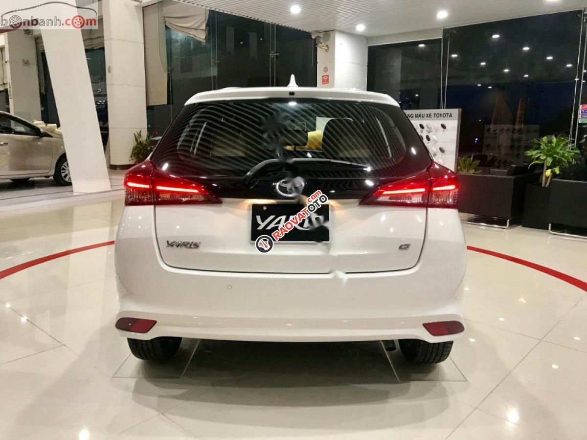 Bán Toyota Yaris 2019, màu trắng, nhập khẩu -5