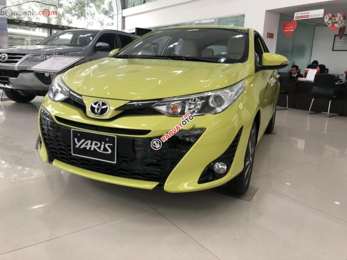 Bán ô tô Toyota Yaris 1.5G năm 2019, nhập khẩu, 608tr-0