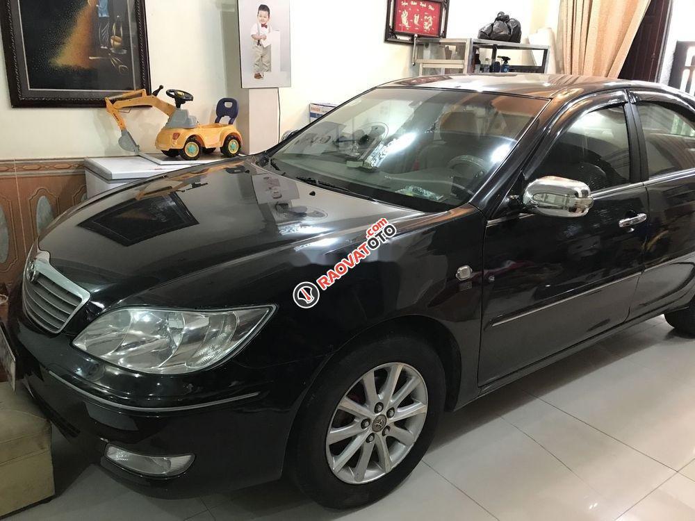Bán Toyota Camry năm 2003, màu đen-1