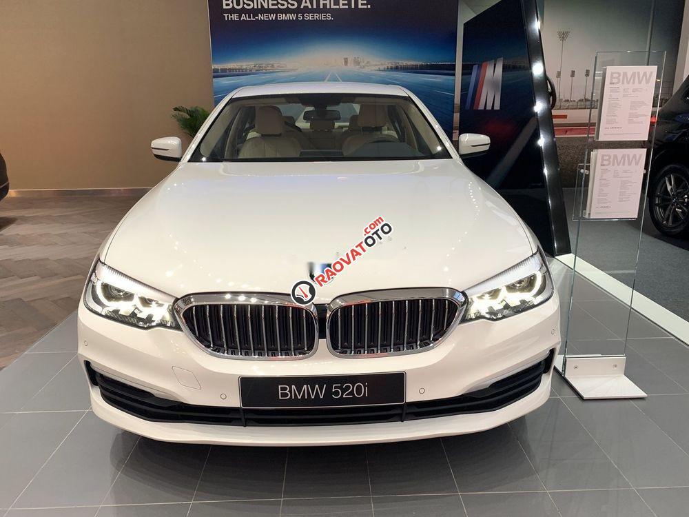 Bán BMW 520i đời 2019, màu trắng, nhập khẩu-1