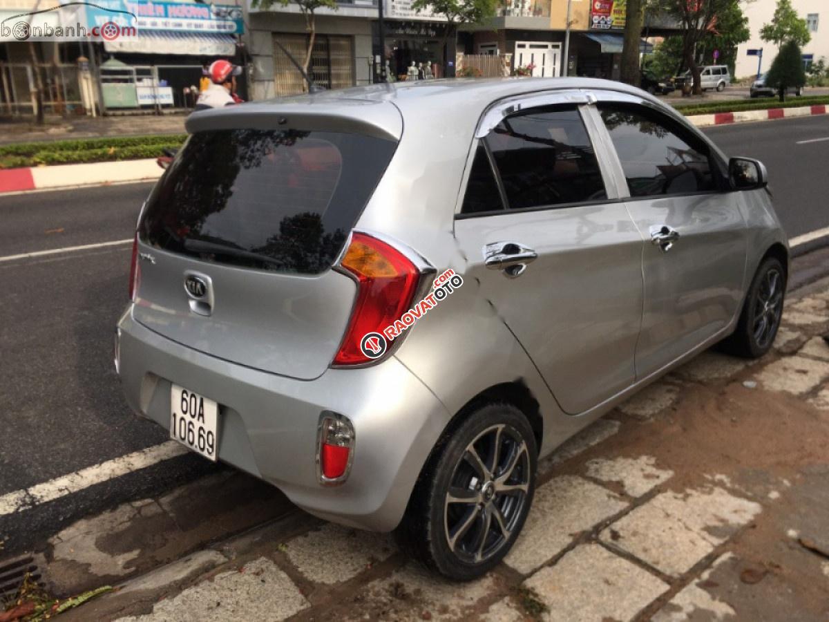 Chính chủ bán xe Kia Morning EX MTH 2013, màu bạc-1