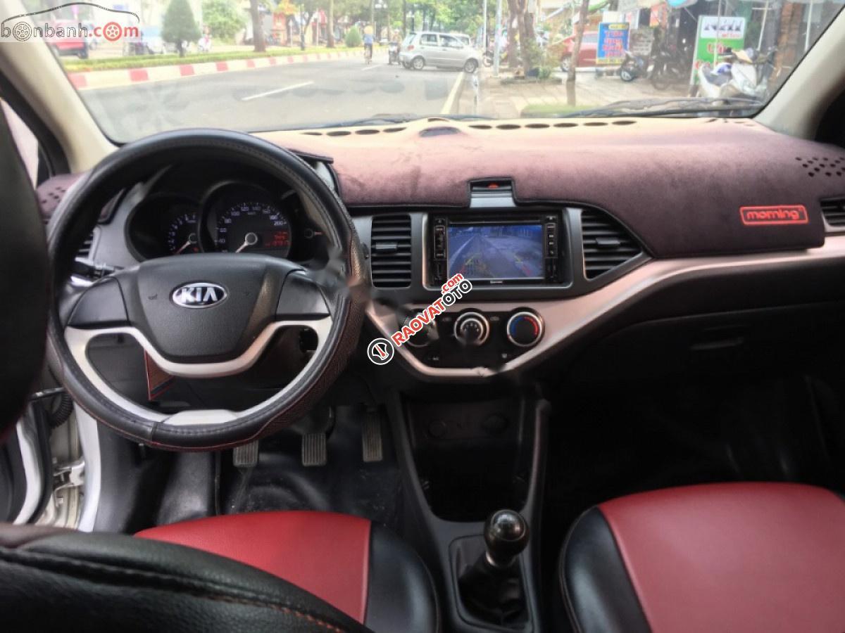 Chính chủ bán xe Kia Morning EX MTH 2013, màu bạc-6