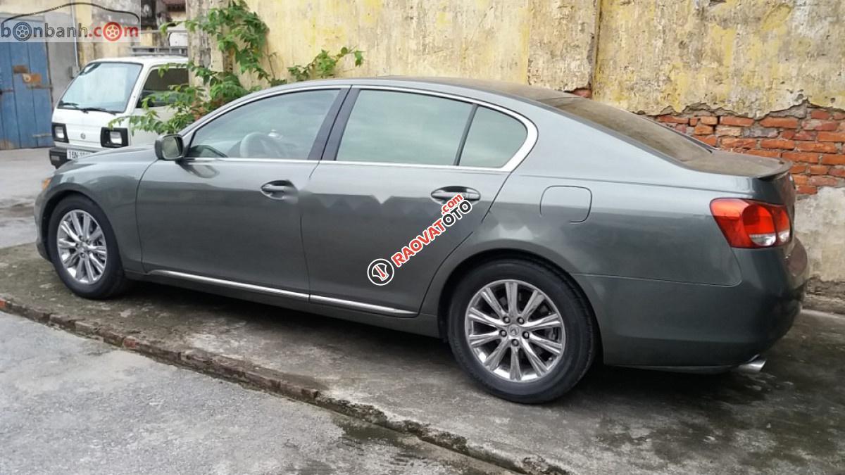 Cần bán xe Lexus GS 300 sản xuất năm 2006, màu xám, nhập khẩu nguyên chiếc chính chủ -4