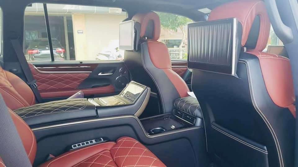Cần bán gấp Lexus LX 570 MBS 2019, màu đen, nhập khẩu-3