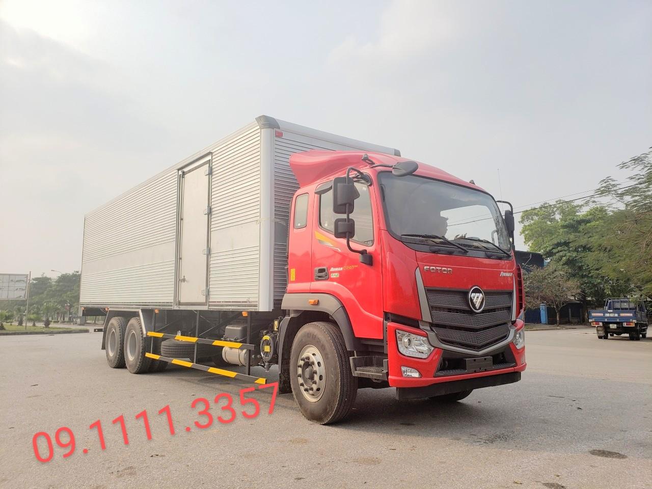 Xe tải Thaco C240 tải trọng 13 tấn thùng dài 9m5 tại Hải Phòng-2