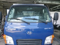 Cần bán Hyundai HD 2.5T thùng kín 2018, màu xanh vào Đô thị