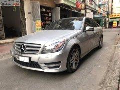 Cần bán xe Mercedes C300 AMG năm sản xuất 2012, màu bạc