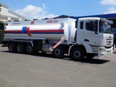 Xe bồn xăng dầu C&C 25 khối, xi téc C&C 5 chân 25000 lít
