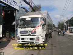 Bán xe tải Dongfeng 6.7 tấn (6,7 tấn) nhập khẩu thùng siêu dài 9.3 mét