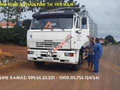 Bán Kamaz 65117 tải thùng 24 tấn | Tải thùng Kamaz 7.8m mới 2016 mui kèo bạt