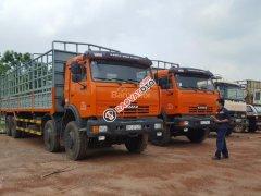 Bán Kamaz 6540 (8x4) thùng 9m mới 2016, tại Kamaz Bình Phước & Bình Dương | Kamaz thùng 30 tấn