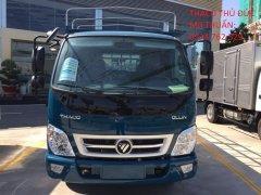 Xe tải 2,2T Ollin 350 mui bạt,thùng dài 4.3m hỗ trợ trả góp,tiêu chuẩn khí thải euro4