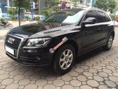 Bán xe Audi Q5 2.0T 2011 màu đen, nội thất kem zin