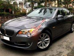 Bán gấp BMW 528i đời 2010, màu xám, xe nhập