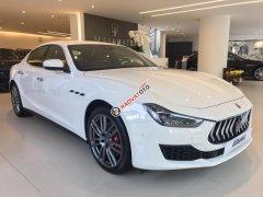 Bán xe Maserati Ghibli chính hãng 2018, màu trắng. LH: 0978877754, hỗ trợ tư vấn