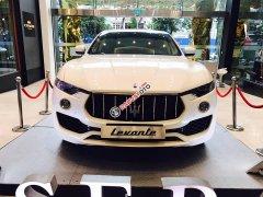 Bán xe Maserati Levante Sport 2018, màu trắng, xe nhập chính hãng. LH: 0978877754 tư vấn