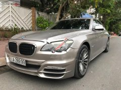 Cần bán gấp BMW 7 Series 750Li đời 2010, màu ghi vàng, nhập khẩu
