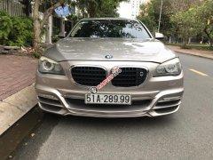 Bán xe BMW 750Li năm 2010 biển víp, màu vàng, nhập khẩu, 1 tỷ 200 triệu