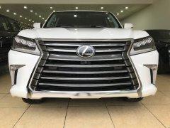 Bán Lexus LX570 trắng xe xuất Mỹ tiêu chuẩn cao nhất, sản xuất 2018 mới 100%